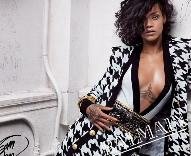 Rihanna Named the New Face of Balmain