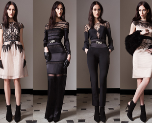 Absolutely stunning! This is how the Temperley London pre-fall 2014 collection can be best described. Have a look!