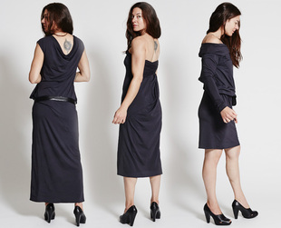 The METAmorph dress takes versatility to a whole new level: it can be worn in no less than 24 ways. Have a look!