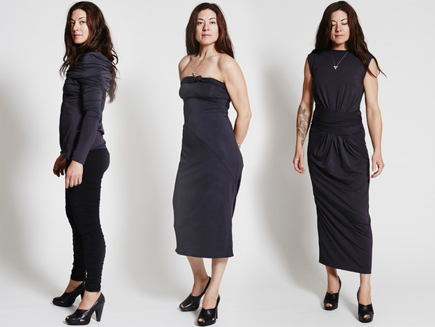 The METAmorph Dress - A Dress That Can Be Worn in 24 Ways