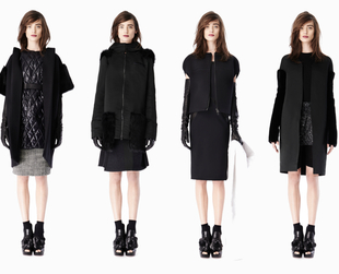 Designer Vera Wang looked at her own closets for inspiration for the new Vera Wang pre-fall 2014 collection. Have a look!