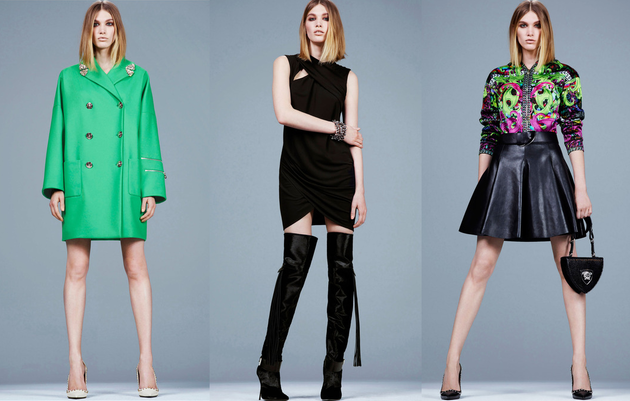 Versace Pre Fall 2014 Looks (3)