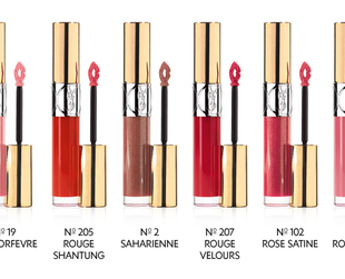 Have a look at the new generation of YSL lip glosses from the new YSL Gloss Volupte collection.