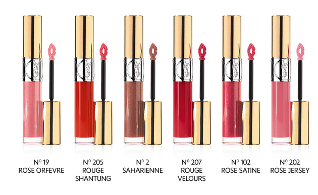 Ysl Gloss Volupte Spring 2014 Colors