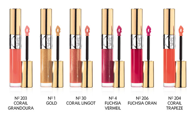 Ysl Gloss Volupte Spring 2014 Shades