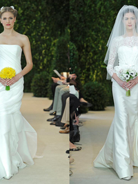 Carolina Herrera Wedding Dresses Spring 2014