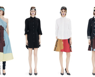 Artsy vibes define the summer 2013 offerings from Acne Studios from the latest capsule collection.