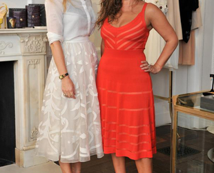 Alice Temperley and Jade Jagger teamed up in order to host the 'Frocks & Rocks' party that celebrated Temperley's newest spring/summer 2013 ready-to-wear collection and Jade's beautiful jewellery line.
