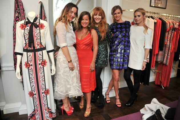 Alice Temperley and Jade Jagger Host 'Frocks & Rocks' Party