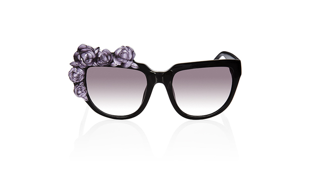 Anna Karin Karlsson Rose Noir Sunglasses