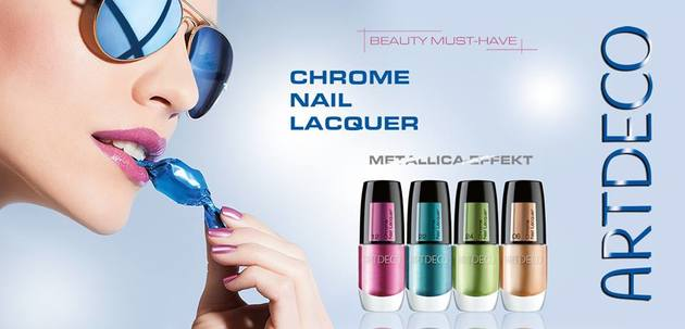 Artdeco Summer 2013 Chrome Nail Lacquer Collection