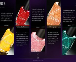 Dreaming of a mani that will leave you feeling like a princess? Then check out the latest Azature nail lacquers and get ready to be dazzled.