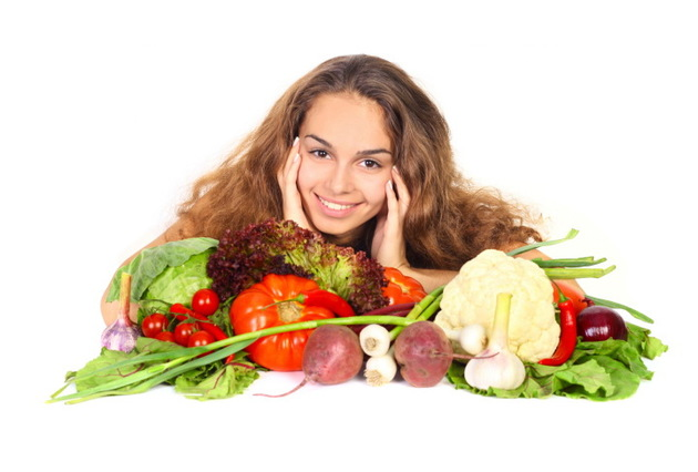 Fresh Vegetables In An Anti Aging Diet