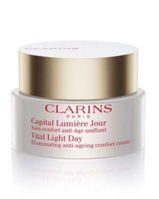 Clarins Vital Light Day Illuminating Anti Aging Comfort Cream