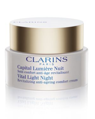 Clarins Vital Light Night Revitalizing Anti Aging Comfort Cream