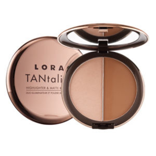 Lorac Ta Ntalizer Highlighter   Matte Bronzing Duo