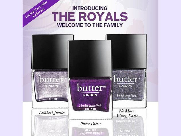 butter LONDON 'The Royals' Limited-Edition Collection