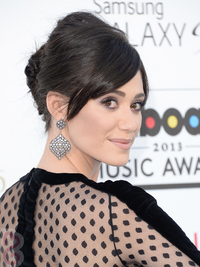Emmy Rossum Hairstyle 2013 Billboard Awards