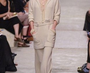 A glam filled resort collection was Chanel's suggestion for 2014. See the most iconic looks from the new line.