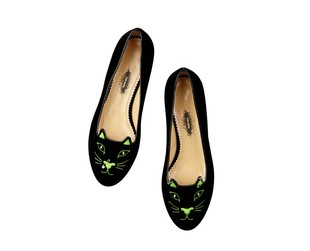 Add an edgy flair to your look with the fab Charlotte Olympia and Tom Binns accessories. Have a look!