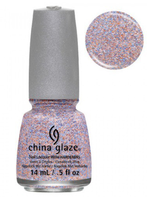 China Glaze All A Flutter Feathered Finish Nail Polish
