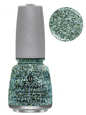 China Glaze Flock Together Feathered Finish Nail Polish
