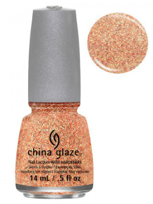 China Glaze Flying South Feathered Finish Nail Polish