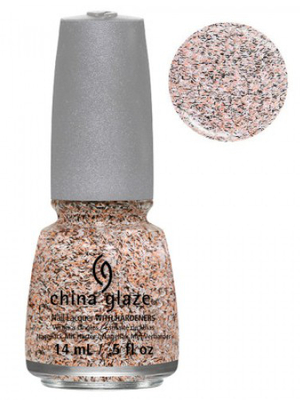 China Glaze Light As A Feather Feathered Finish Nail Polish
