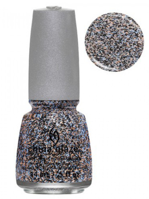 China Glaze Party Fowl Feathered Finish Nail Polish