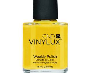 Flawless manicure for an entire week? Yes, thanks to the CND Vinylux nail polishes it is possible without going to a salon.