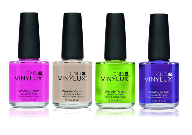 CND Launches Vinylux Nail Polishes