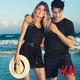 Doutzen Kroes For H M High Summer 2013  (1)