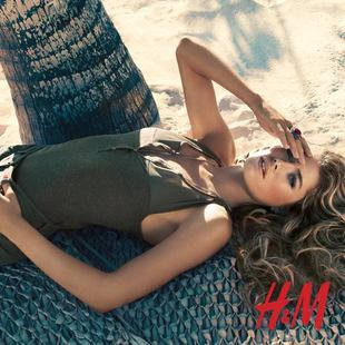Doutzen Kroes For H M High Summer 2013  (3)