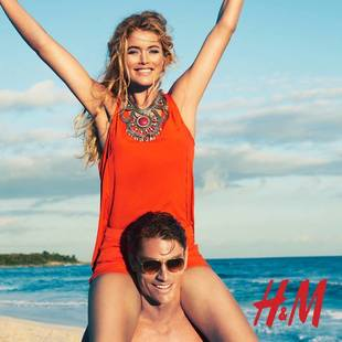 Doutzen Kroes For H M High Summer 2013  (6)
