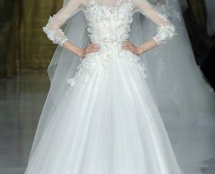 Brides to be, prepare to be swept off your feet by the Elie by Elie Saab 2014 wedding dresses!