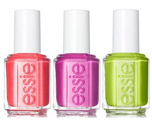 Paint your nails in the summer's hottest tones with the new Essie nail polishes for summer 2013 from the Naughty Nautical collection.