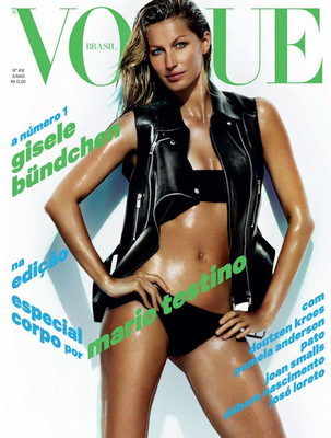 Gisele Bündchen Reveals Post Baby Body For Vogue  Brazil (1)