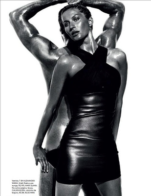 Gisele Bündchen Reveals Post Baby Body For Vogue  Brazil (4)