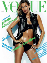 Gisele Bündchen Reveals Post Baby Body for Vogue