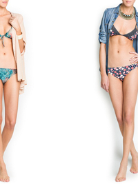 Guillermina Baeza 2013 Beachwear Collection for Mango Touch