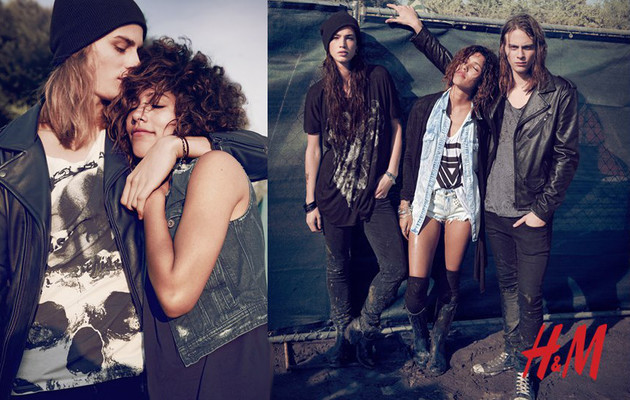 H&M Rock Festival Collection 2013