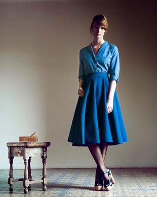 Heinui Indigo Girl Fall Winter 2013 2014 Collection (9)