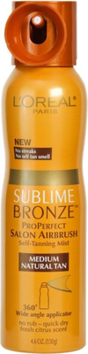 L'oreal Sublime Bronze Pro Perfect Salon Airbrush Self Tanning Mist