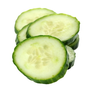 Sliced Cucumbers For Baggy Eyes