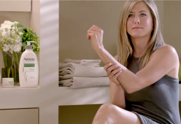 Jennifer Aniston Stars in Aveeno's New Campaign