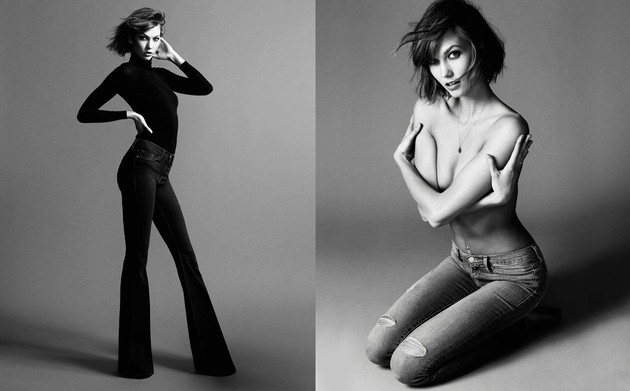 Karlie Kloss Designs Capsule Collection For Frame Denim (2)