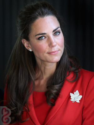 Kate Middleton Half Up Hairstyle