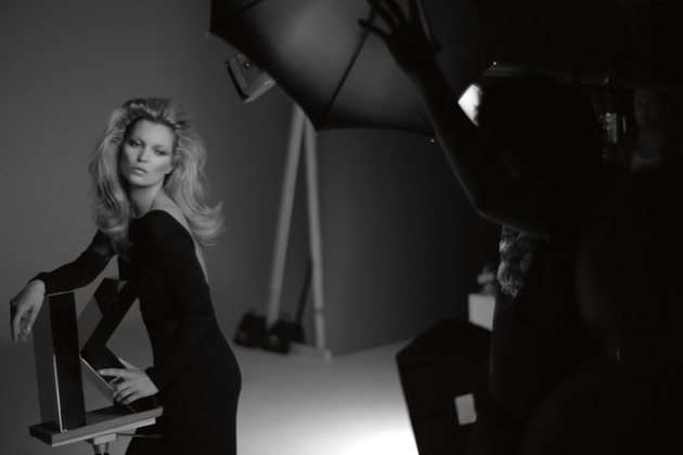 Kate Moss Kerastase Campaign Shoot
