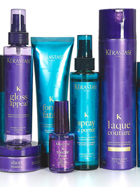 Kate Moss for Kérastase Campaign 2013