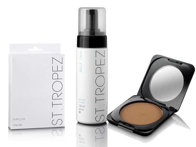 Kate Moss St Tropez Campaign 2013 Products